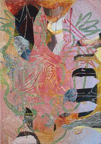 Predating by Helen Johnson contemporary artwork painting