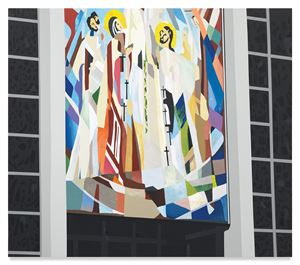 St. Mary's by Brian Alfred contemporary artwork
