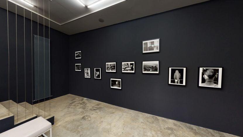 Exhibition view: Nik Erik Neubauer,You always cry twice when you go to the South, Galerija Fotografija,Ljubljana (7 September–31 October 2021). Courtesy Galerija Fotografija.