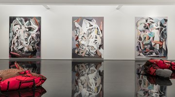 Contemporary art exhibition, Ben Quilty, Notes on Chaos at Tolarno Galleries, Melbourne