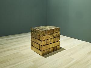 TBC (cubo) by Bosco Sodi contemporary artwork