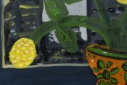 5am view of DTLA by Marcel Alcalá contemporary artwork 3