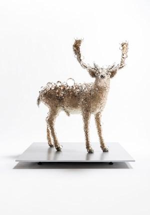 PixCell-Fallow Deer#2 by Kohei Nawa contemporary artwork