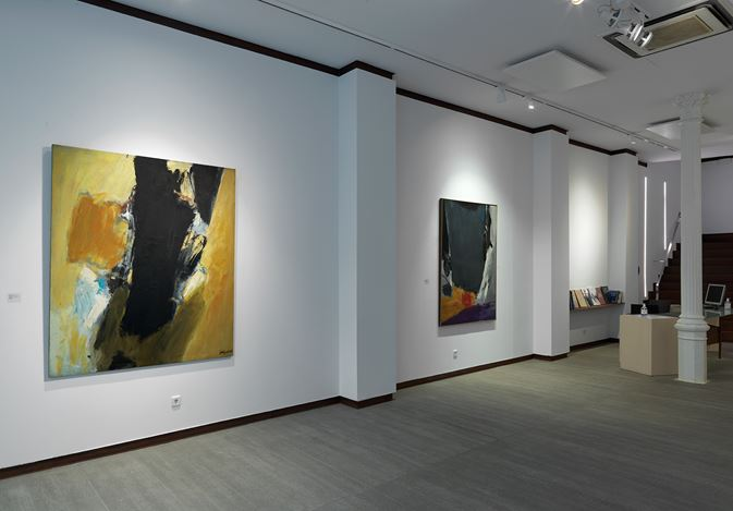 Exhibition view: José Guerrero, The USA Influence, Courtesy Galeria Mayoral, Barcelona (9 September–19 December 2020). Courtesy Galeria Mayoral.