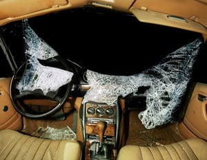 Car Crash Studies, Interior #9 by Nicolai Howalt contemporary artwork