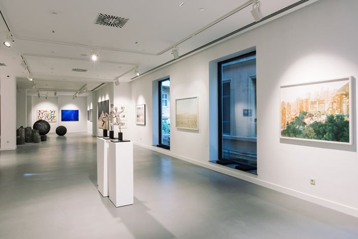 Exhibition view: Group Exhibition, the approach, Gazelli Art House, Baku (23 June–17 September 2017). Courtesy the artists and Gazelli Art House, Baku.