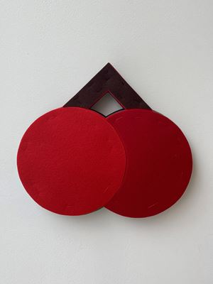 빨간 열매 Cherries by Hyunsun Jeon contemporary artwork