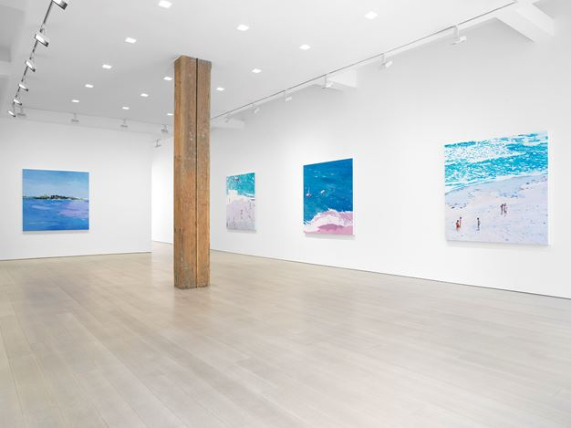 Exhibition view: Isca Greenfield-Sanders, Miles McEnery Gallery, 525 West 22nd Street, New York (21 May–11 July 2020). Courtesy Miles McEnery Gallery.