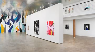 Contemporary art exhibition, Sarah Morris, Cloak and Dagger at Capitain Petzel, Berlin