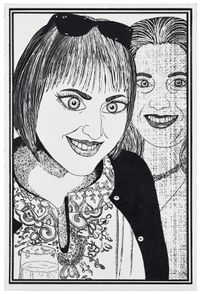 Six Snapshots of Julie by Grayson Perry contemporary artwork print