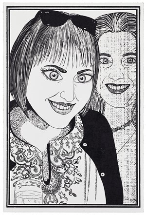 Six Snapshots of Julie by Grayson Perry contemporary artwork