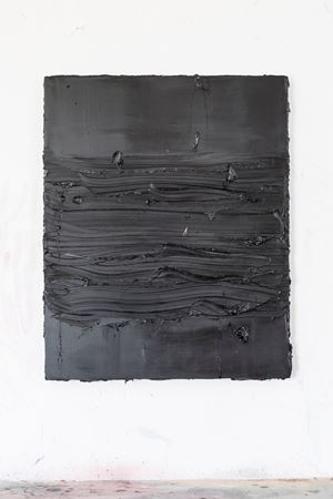 Untitled (Cassel Earth/Scheveningen Black) by Jason Martin contemporary artwork