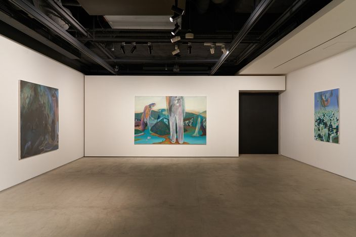 Exhibition view: Hiroka Yamashita, Cosmos Remembered, THE CLUB, Tokyo (27 March–6 May 2021). Courtesy THE CLUB.