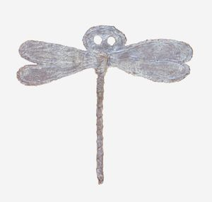 Untitled Dragonfly object (from the Libellenrochen series) by Heidi Bucher contemporary artwork