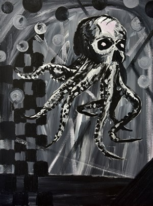 HORROR BUSINESS #2 by David Griggs contemporary artwork