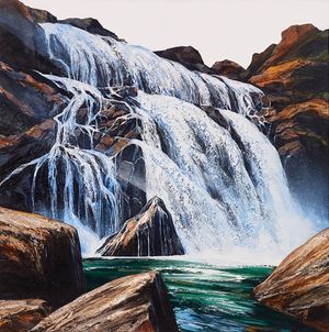 Overflow by Neil Frazer contemporary artwork