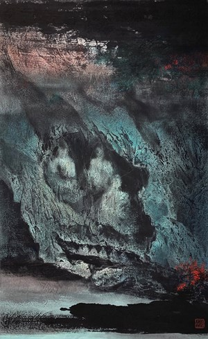 Buddha Grottoes by Kwok Hon Sum contemporary artwork