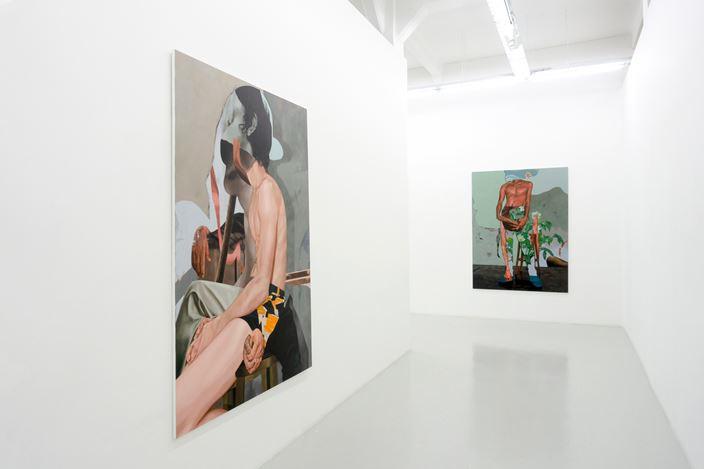Exhibition view: Wedhar Riyadi, Slices, Yavuz Gallery (25 May–16 June 2019). Courtesy Yavuz Gallery.