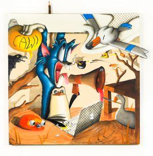 THE STYMPHALIAN BIRDS by Sebastian Chaumeton contemporary artwork