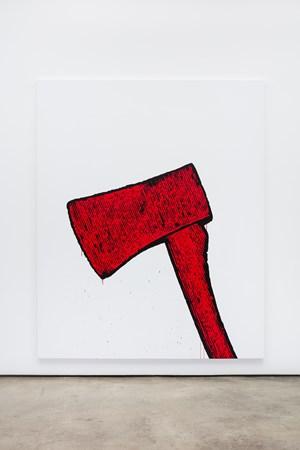 Untitled (Axe) by Gardar Eide Einarsson contemporary artwork