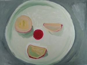 Snack Wink by Layla Rudneva-Mackay contemporary artwork