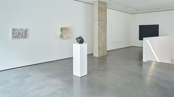 Contemporary art exhibition, Ghada Amer, In Black and White at Goodman Gallery, London