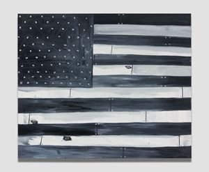 Divide by Marcus Jahmal contemporary artwork