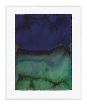 Untitled (Dioxazine mauve) by Jason Martin contemporary artwork