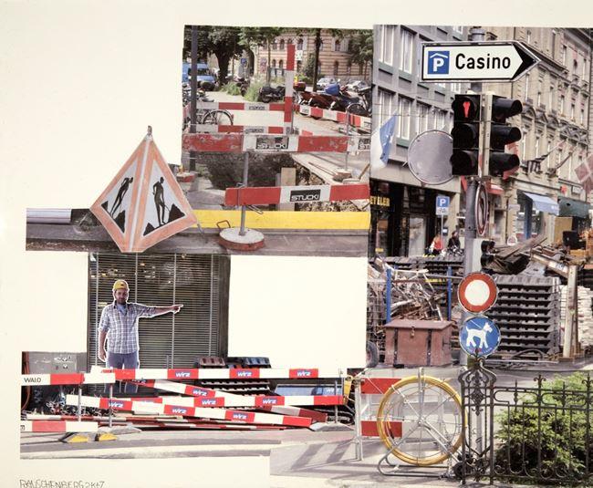 Monitor (Runt) by Robert Rauschenberg contemporary artwork