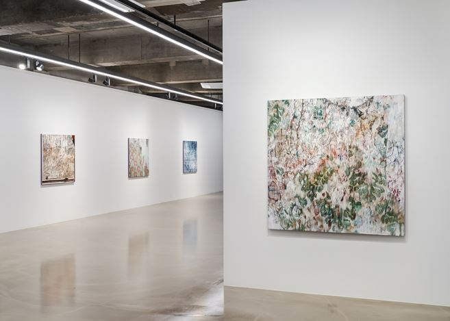 Installation view : Yoon Suk One, 'Enfolding Landscape', Gallery Baton, 2020