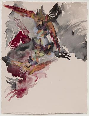 Empire Follows Art: States of Agitation 2 by Shahzia Sikander contemporary artwork