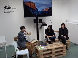 """ASIA NOW 2018 """"Wind and Water"""" By Felicitas Yang and Martina Köppel-Yang, Moderated by Lin Zuqiang"""