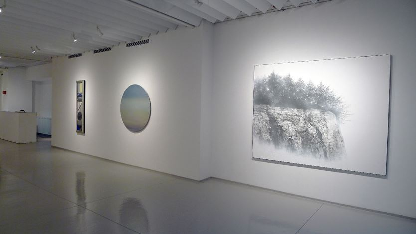 Exhibition view: Group Exhibition, Summer Group Show, Sundaram Tagore Gallery, Chelsea, New York (17 July–1 September 2018).Courtesy Sundaram Tagore Gallery.