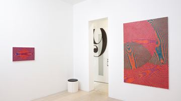 Contemporary art exhibition, John Aslanidis, Sonic Network No. 17 Revisited at Gallery 9, Sydney