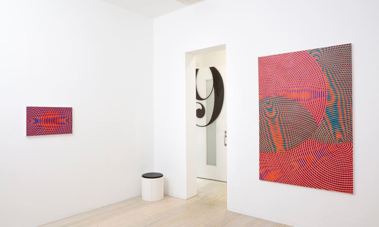 Exhibition view: John Aslanidis, Sonic Network No. 17 Revisited, Gallery 9, Sydney (24 February–20 March 2021). Courtesy Gallery 9.