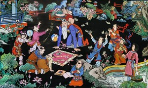 The Retirement by Jacky Tsai contemporary artwork
