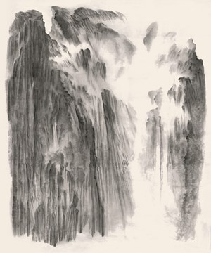 Beholding the Mountain with Awe No.1 by Xu Longsen contemporary artwork