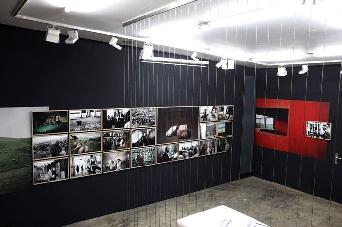 Exhibition view: Simon Chang,Shepherds and the Slaughterhouse, Galerija Fotografija, Ljubljana (15 OCtober–30 November 2020). CourtesyGalerija Fotografija.