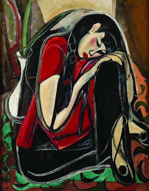 Deep Feelings by Cheong Soo Pieng contemporary artwork