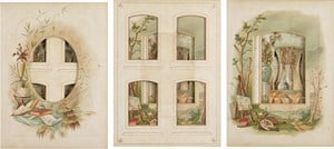 Every even page from a nineteenth century photo album #4-6 by Izabela Pluta contemporary artwork