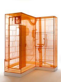 Boiler Room: London Studio by Do Ho Suh contemporary artwork installation