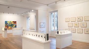 Contemporary art exhibition, Etel Adnan, Leporellos at Galerie Lelong & Co. Paris, 13 Rue de Téhéran, Paris, France