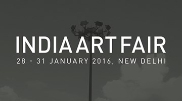 Contemporary art exhibition, India Art Fair 2016 at Sabrina Amrani Gallery, Madrid