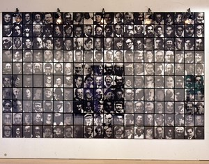 Les Suisses Morts by Christian Boltanski contemporary artwork