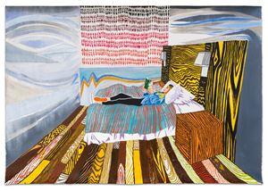 Sophia Reading by Raffi Kalenderian contemporary artwork