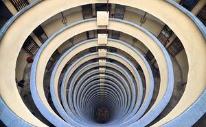 Tai Hang, HK Vertical Horizon #33 by Romain Jacquet Lagreze contemporary artwork