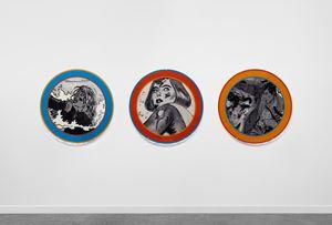 Quiet Disaster by Dara Birnbaum contemporary artwork installation
