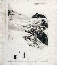 Bossons glacier by Douglas Mandry contemporary artwork print