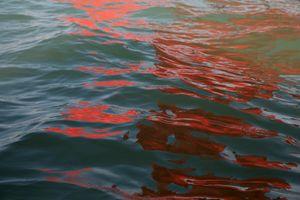 Riflessi (Red Regatta - 1 September 2019) - 6 by Melissa McGill contemporary artwork photography, print