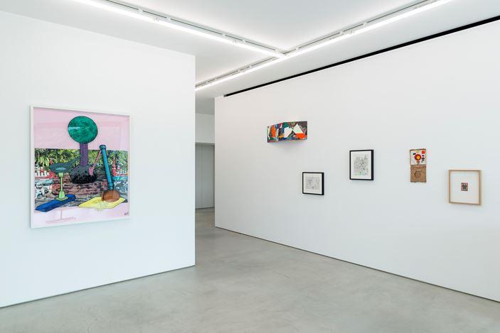 Exhibition view: Group Exhibition,Vong Co RAHZI, Blum & Poe, Tokyo (15 June–10 August 2019). Courtesy the artists and Blum & Poe, Los Angeles/New York/Tokyo. Photo: SAIKI.